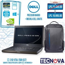 DELL PRECISION M4800 + Mochila DELL